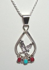 Eagle Jewelry with Turquoise & Coral 35% OFF