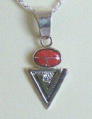 Sterling Silver Coral Jewelry Naja Design
