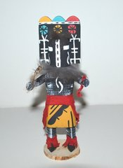 Kachina Doll - Wooden Skirt Zuni Hemis - 7 Inch 40% OFF