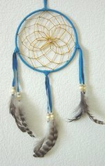 Turquoise 3 Inch Dream Catcher