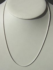 Sterling Silver Snake Chain - 1mm - 18 Inch