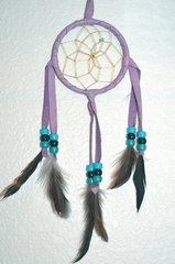 4 Inch Lavender Dream Catcher