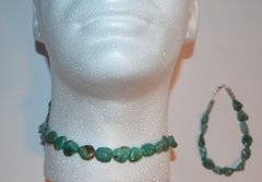 Turquoise Nugget Necklace - NOW 50% OFF
