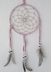 6 Inch Pale Pink Indian Dreamcatchers