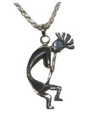 Kokopelli Jewelry, Sterling Silver Kokopelli Jewelry