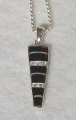 Onyx with Opal Inlay Jewelry