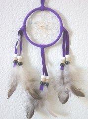 Purple 3 Inch Dream Catcher