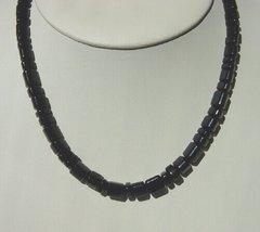 Triangle Shape Onyx Bead Necklace 25% OFF