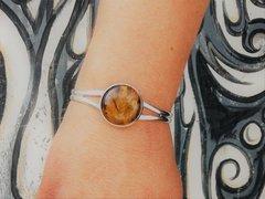 Sterling Silver - Tiger Eye - Bracelet