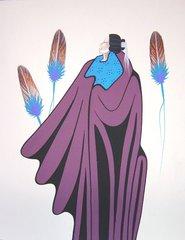 American Indian Painting - Will Redbird - Spirit Journey