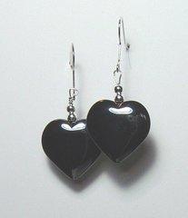 Hematite Heart Earrings 33% OFF