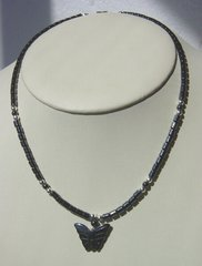 Hematite Butterfly Necklace 30% OFF