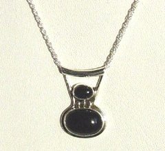 Onyx Jewelry | Pendant with Chain - 40 % OFF
