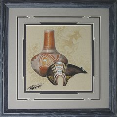 """Sand Painting - 14 Inch """"Bear"""" - NOW 75% OFF"""