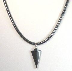 Hematite Arrowhead Necklace 20% OFF