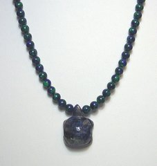 Sodalite Turtle Necklace 30% OFF