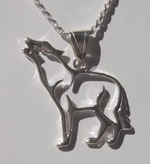 Sterling Silver Wolf Jewelry - NOW 40% OFF