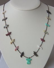 Fox and Phoenix Shell Necklace 33% OFF