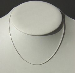 Sterling Silver Box Chain | 16 to 24 Inch