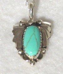 Turquoise Leaf Jewelry