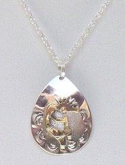 Kokopelli Jewelry Raindrop Design