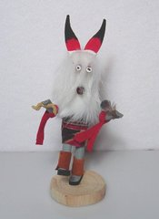Kachina Doll - 5 Inch White Wolf - NOW 60% OFF