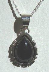 Onyx Jewelry Teardrop Cut Design