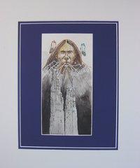 American Indian Painting - David Yazzie - Warrior Spirit