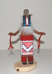 Kachina Doll - 5 Inch Badger - NOW 50% OFF
