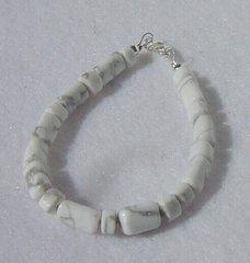 Howlite - Bead - Bracelet
