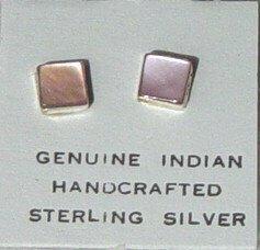 Mother-Of-Pearl Post Earrings