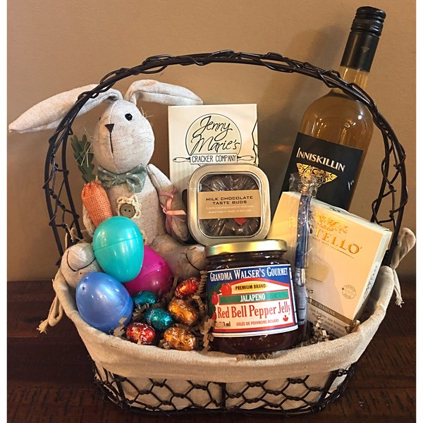 Easter gift baskets gift baskets victoria bc easter gift baskets negle Images