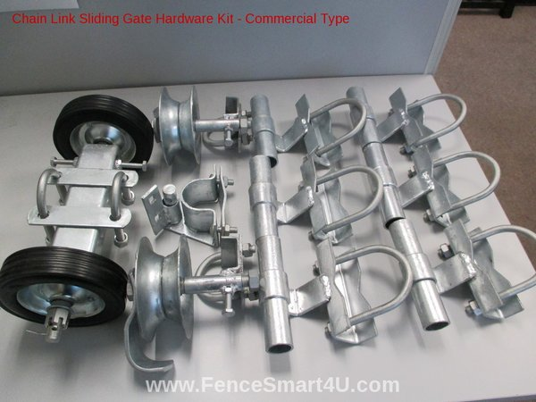 Rolling Gate Hardware Kit Commercial Type Commercial Type