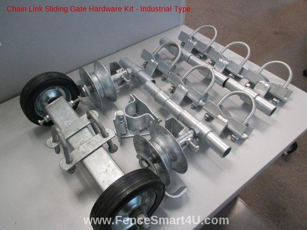 Rolling Gate Hardware Kit Industrial Type Industrial Type