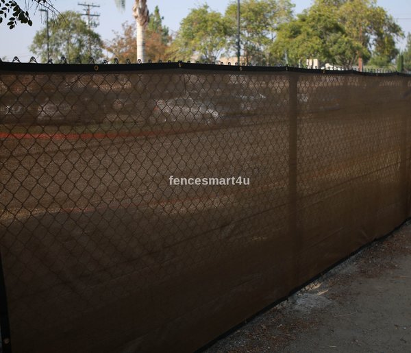 Privacy fence screen shade cloth