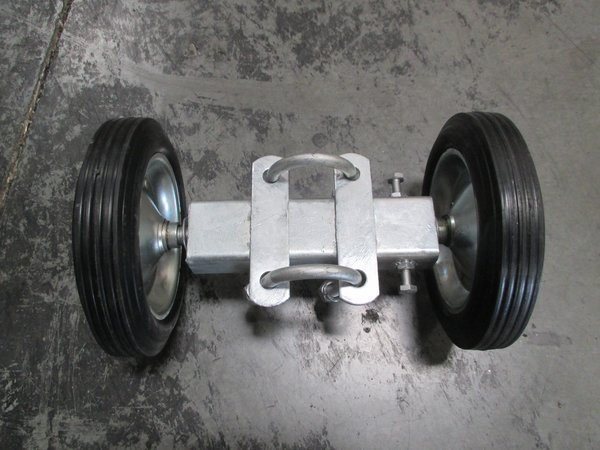 8 Quot Rolling Gate Carrier Wheels 8 Quot Double Wheel Carriers