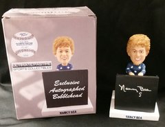 "Nancy Bea ""Musical"" - Ultimate Pastime Exclusive Autographed Bobble Head"