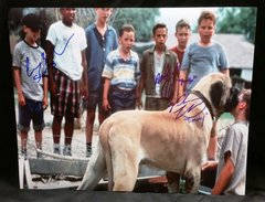 """""""The Sandlot"""" 3 Cast Member Signed 11x14 (Screen Shot) - Squints, Timmy Timmons and Yeah Yeah"""