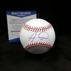 Alex Wood Autographed Baseball w/ Beckett C.O.A.