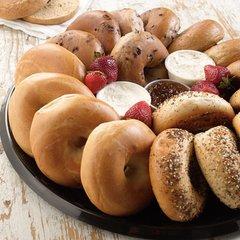 Assorted Bagels (Serves 10)