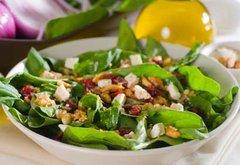 Salade d'Epinard (Serves 10)