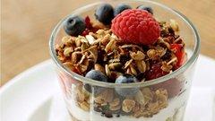 Yogurt with Granola (Serves 10)