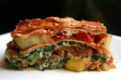 Vegetarian Lasagna (Serves 10)