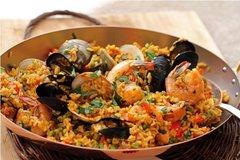 Seafood Paella (Serves 10)