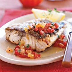 Baked Sea Bass (Serves 10)