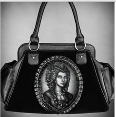 Skeleton Lady Hologram Purse