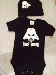 Barf Vader Onsie with Touque
