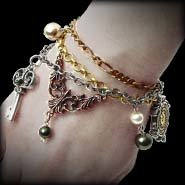 Mrs. Hudson's Cellar Keys Bracelet