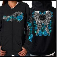 Blue Rose Hoody