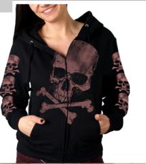 Skull and Crossbones Hoody